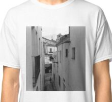 Walking through a Narrow Alleyway Classic T-Shirt