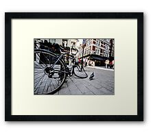 The salvador Dali effect Framed Print