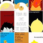 Fionna and Cake Adventure Time Quotes by Patricia Feaster-Kimmerle