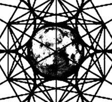 Metatron Cube Vintage Sticker