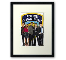 12th Precinct Team Framed Print