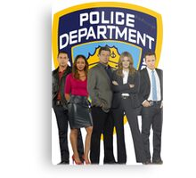 12th Precinct Team Metal Print