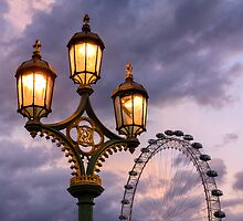 Westminster Bridge, London by Mark Sykes