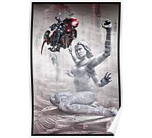 Cyberpunk Painting 012 Poster