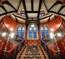 St Pancras Hotel, London by Mark Sykes