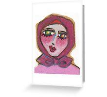 Babooshka Dreaming Greeting Card