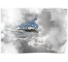 XH558 at Altitude Poster