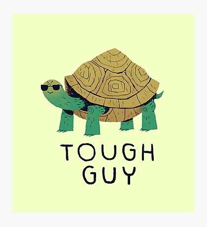 tough guy Photographic Print