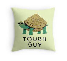 tough guy Throw Pillow