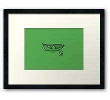 Chick Peas Framed Print