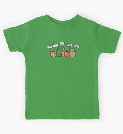 I hate vegans Kids Clothes