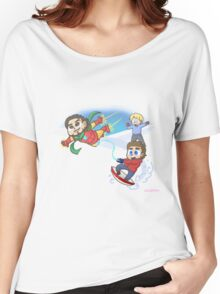 Super Family Snow Day Women's Relaxed Fit T-Shirt