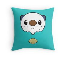 Oshawott Throw Pillow