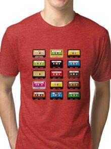 Music Tapes Tri-blend T-Shirt