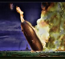 The Hindenburg by Richard  Gerhard
