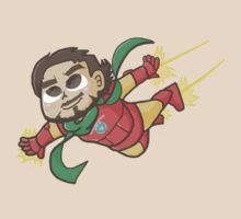 Tony Flies by clouddraws
