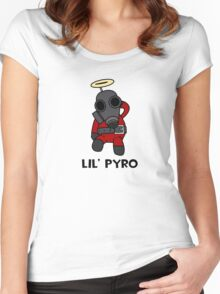 TF2 - Lil' Pyro Women's Fitted Scoop T-Shirt