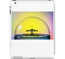 Fluidart water drop images iPad Case/Skin