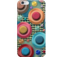 Brightly Colored Abstract iPhone Case/Skin