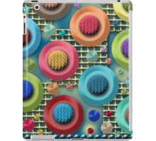Brightly Colored Abstract iPad Case/Skin