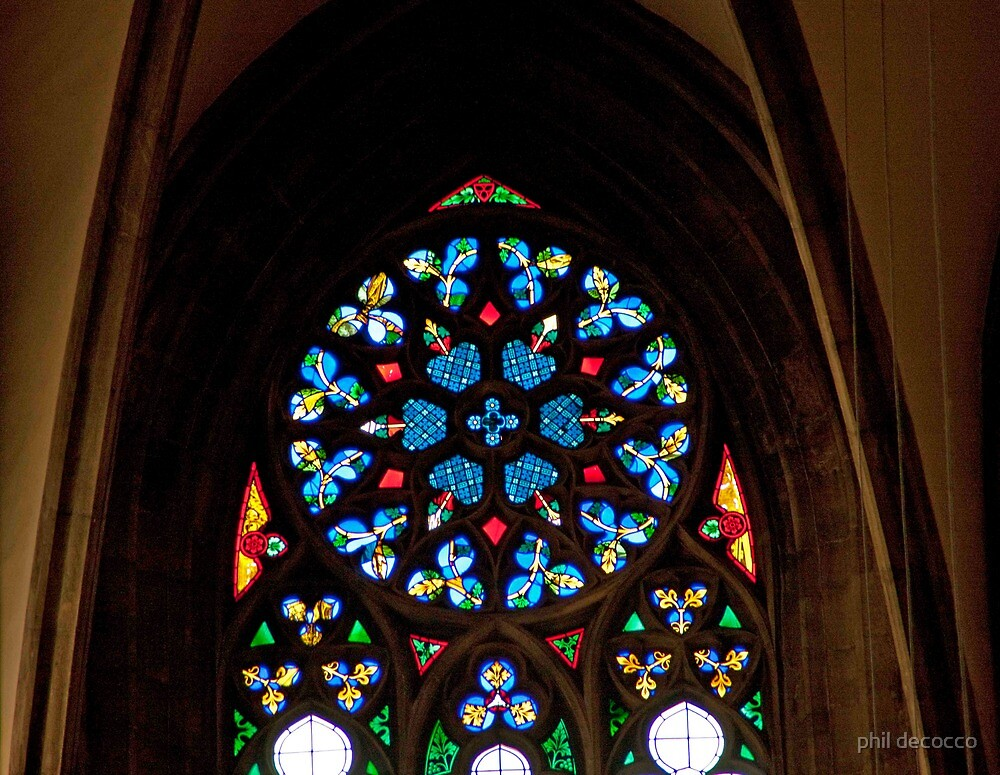 Rose Window by phil decocco