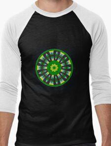 Plaid Crazy Men's Baseball ¾ T-Shirt