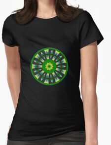 Plaid Crazy Womens Fitted T-Shirt