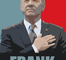 House of Cards - FRANK UNDERWOOD by elektro