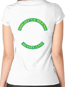Old Golfers Women's Fitted Scoop T-Shirt
