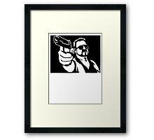 Walter Sobchak Big Lebowski Framed Print