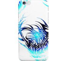 blue vs white iPhone Case/Skin