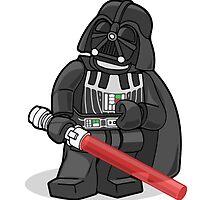 Lego Darth Vader by djprice