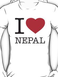 I ♥ NEPAL T-Shirt