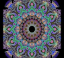 Kaleidoscope Black BG 11 by TerryBerry127