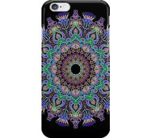 Kaleidoscope Black BG 11 iPhone Case/Skin
