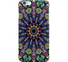 Kaleidoscope Black BG 14 iPhone Case/Skin