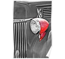 1944 Ford Pickup - Headlight - SC Poster