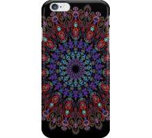 Kaleidoscope Black BG 17 iPhone Case/Skin