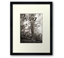 Jessica Nude Framed Print