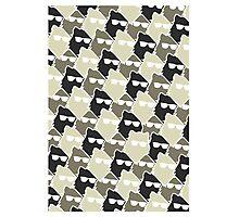 Wolf Wall - Mono Photographic Print