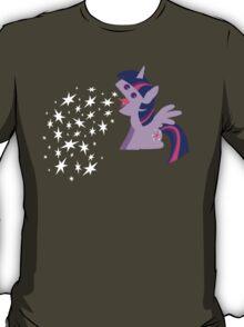 Princess Twilight Sparkle Star Vomit T-Shirt