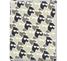 Wolf Wall - Mono iPad Case/Skin