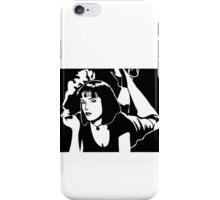 MIA WALLACE  Uma Thurman Pulp Fiction Tarantino iPhone Case/Skin
