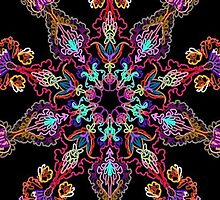 Kaleidoscope Black BG 20 by TerryBerry127
