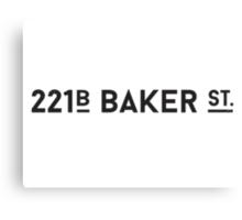 221B Baker St. Canvas Print