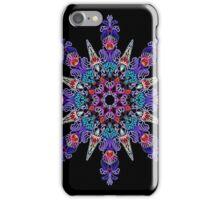 Kaleidoscope Black BG 24 iPhone Case/Skin