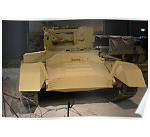 Valentine Mark III Infantry Tank Poster