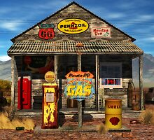 Don't Pass This Gas (station) by DYoungDigital