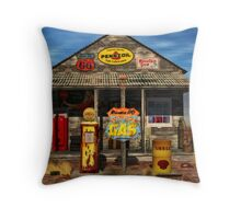 Don't Pass This Gas (station) Throw Pillow