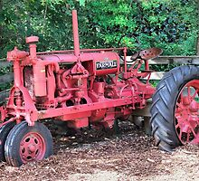 The Old Farmall by RickDavis